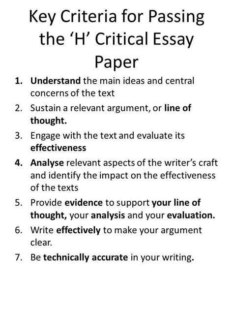 Structure Of A Critical Essay by How To Structure Andrina Essay Ppt