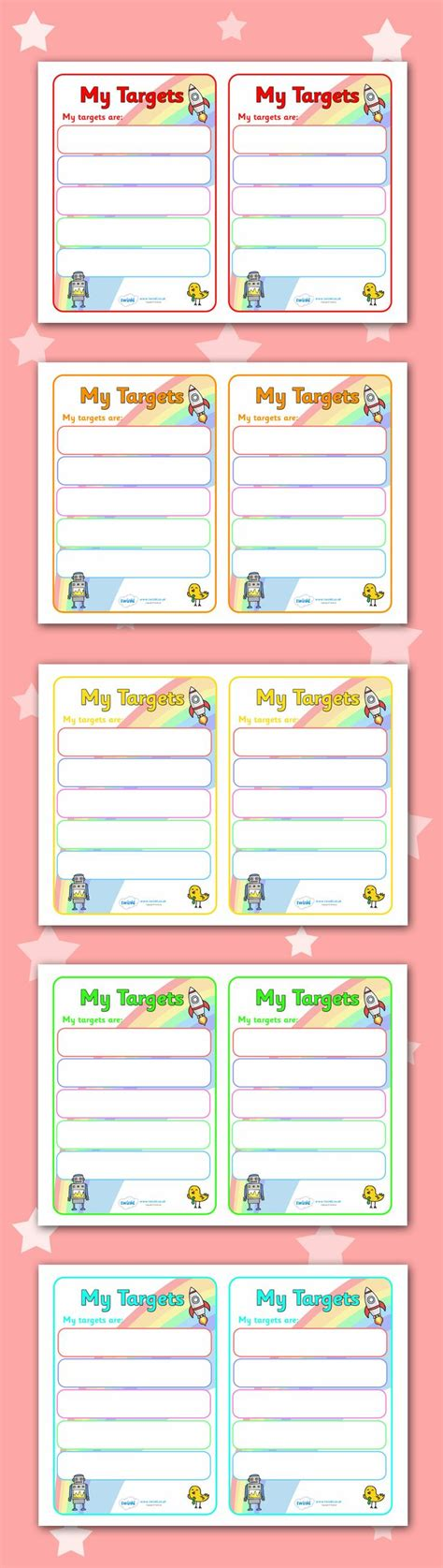 free printable learning targets twinkl resources gt gt editable target learning objective