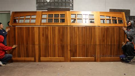 Cedar Wood Garage Doors Price 100 Wood Garage Doors Prices Tips Large Garage Doors At 100 Timber Slat Doors Wooden Garage