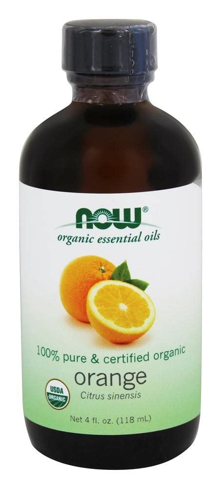 Orange Essential Oils Now Food buy now foods 100 organic essential orange