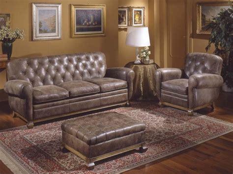 alba divani divano in stile rivestito in pelle cuscini in piuma d