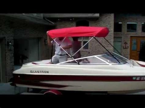 glastron boat mpg westland bimini assembly mpg youtube