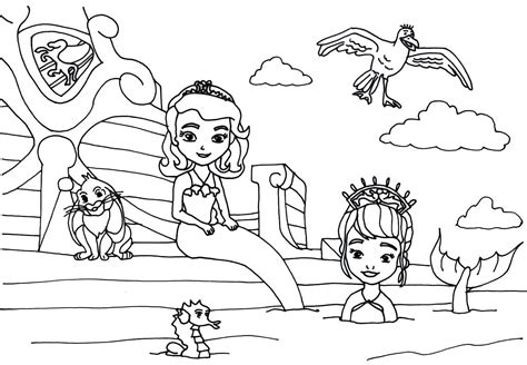 sofia coloring pages pdf pin sofia kids page coloring pages dolphins on pinterest