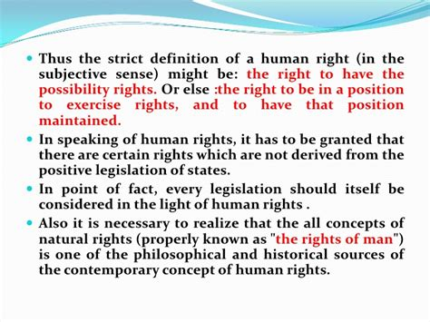 right meaning human rights 1st lecture presentation