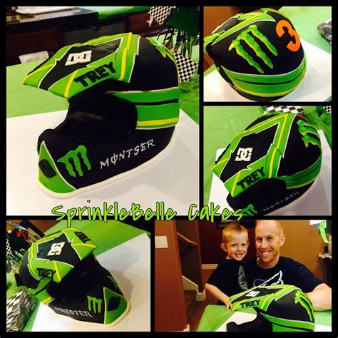 motocross helmet cake motorcross helmet cake sprinklebelle cakes birthday