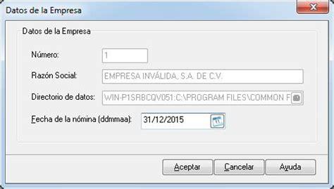 informativa de sueldos y salarios noi 7 soporte aspel 187 declaraci 243 n informativa de sueldos y
