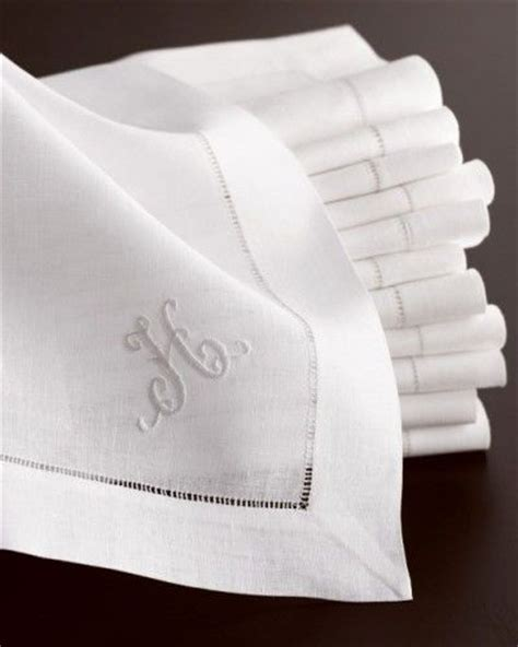 monogrammed linen napkins monogrammed linen napkins