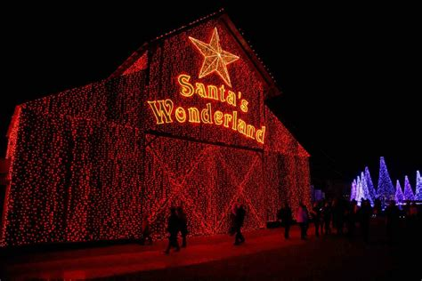 christmas lights in college station texas santa s wonderland gearing up for the biggest christmas in