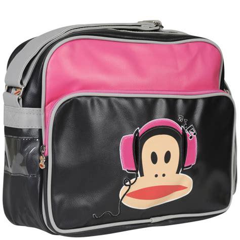Frunk Messenger Bag paul frank headphones messenger bag fuschia black womens