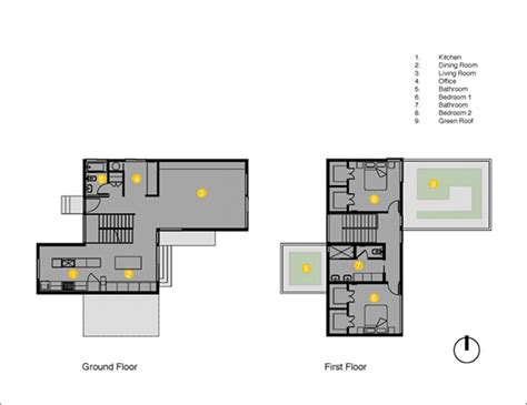 compact house plans compact and visually uncluttered home in seattle