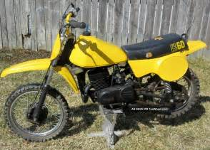 Vintage Suzuki Dirt Bikes 1979 Suzuki Rm60 Rm 60 Ahrma Vintage Motocross Bike Dirt Bike