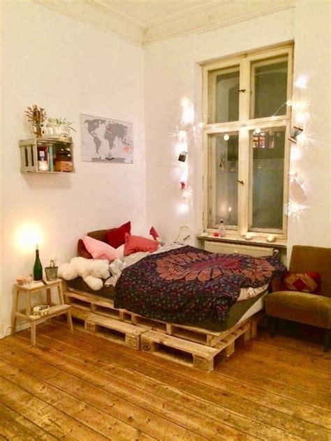 schlafzimmer ideen alternativ sch 246 nes diy bett aus paletten diy paletten