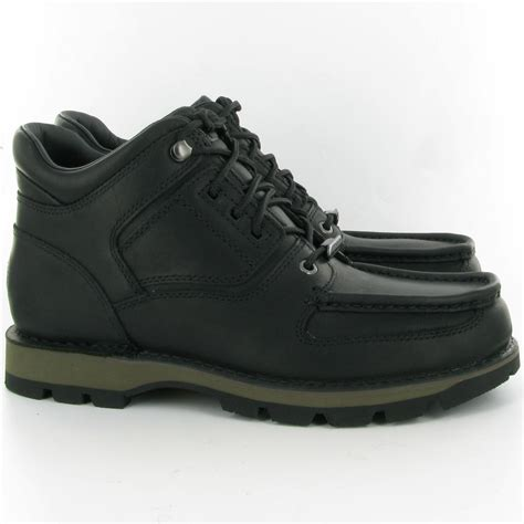 rockport boots rockport umbwe trailhiker boots in black