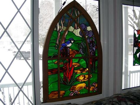 144 best images about stained glass in window frames