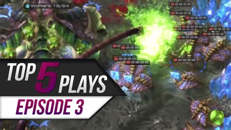 Chairs 4 Gaming Starcraft 2 Top 5 Plays Episode 3 Youtube