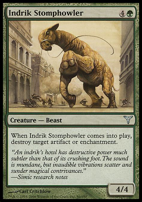 Indri Set indrik stomphowler magic the gathering card info