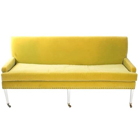 lime green sofas vintage lime green sofa at 1stdibs