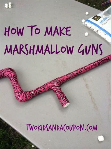 How To Make A Marshmallow Gun Out Of Paper - best 25 marshmallow gun ideas on