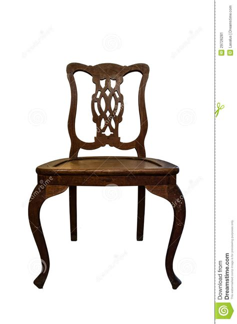 sedia vecchia vecchia sedia di legno immagine stock immagine 29726281