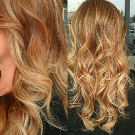 light and dark blonde highlights 17 best ideas about red blonde highlights on pinterest