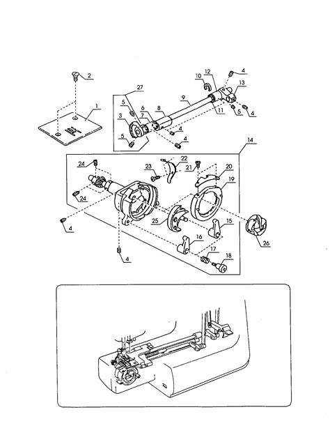 kenmore sewing machine parts diagram race diagram parts list for model 38512318990
