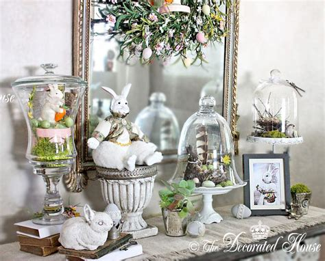 easter decorating ideas for the home the decorated house a little more easter decorating