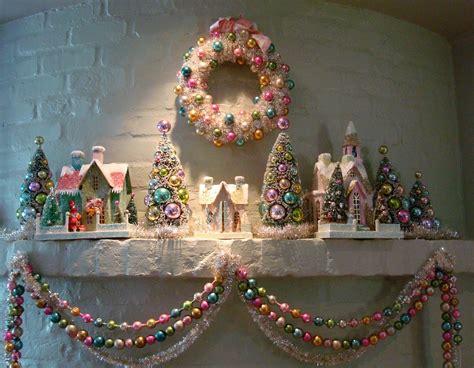 dishy vintage christmas    house