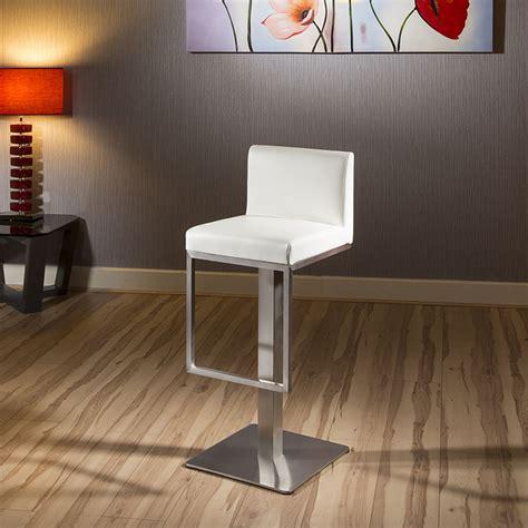 quatropi luxury white kitchen breakfast bar stool seat