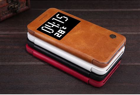 Nillkin Shield Hardcase Htc One A9 Free Hd Screen Promo nillkin qin series leather for htc one a9