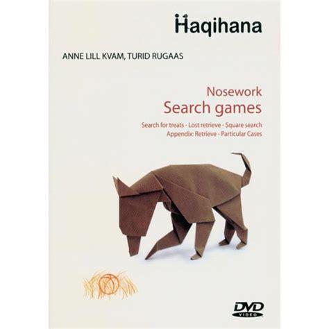 pattern games dvd leslie mcdevitt nosework search games dvd