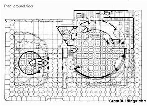 guggenheim floor plan solomon r guggenheim museum 1943 59 plan frank lloyd