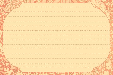 free blank recipe card templates 9 best images of printable index cards with lines