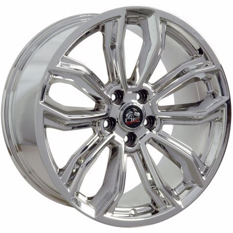 C 0015 Wheels 17 Ford Gt mustang 174 style replica wheel pvd chrome 19x10