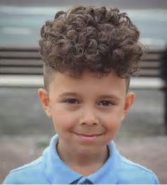 Galerry hairstyle boy curly