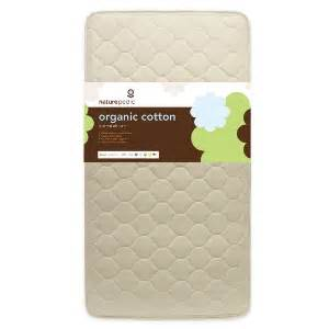 Naturepedic Organic Cotton Quilted Deluxe Baby Crib