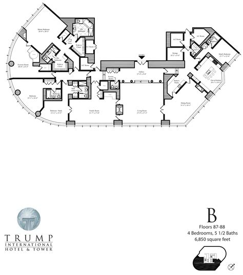 trump tower floor plans world of architecture tallest towers trump tower chicago