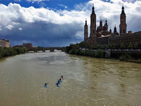 de madrid al ebro piraguas rio ebro puente de santiago zaragoza espa 241 a enfocado fotolog