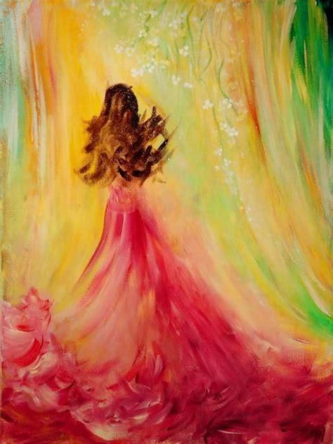 acrylic painting using expecting acrylic painting by teresa wegrzyn creative