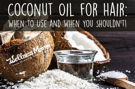 over the counter dry and brittle hair treatments coconut oil for hair when to use when you shouldn t