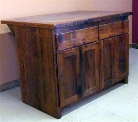 kitchen island made from reclaimed wood reclaimed barn wood kitchen island with wooden top