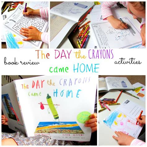 The Day The Crayons Came Home the day the crayons came home