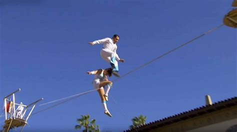 america s got talent act duo guerrero tightrope act america s got talent 2016