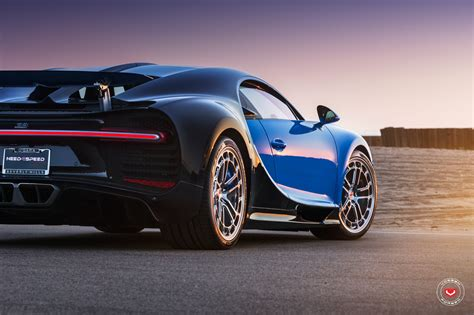 first bugatti first bugatti chiron gets vossen forged wheels autoevolution
