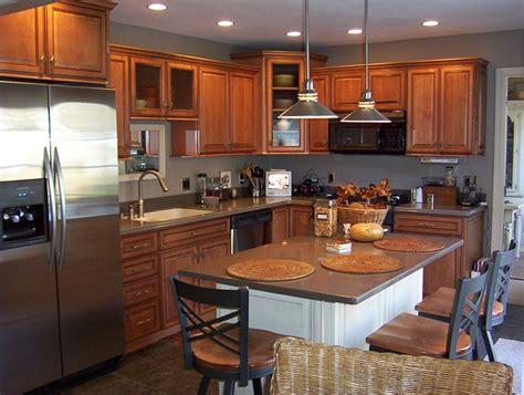 ksi kitchen cabinets kitchens with sable cabinets and chiffon island kitchen