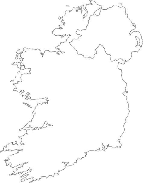 ireland contour map clip art  clkercom vector clip
