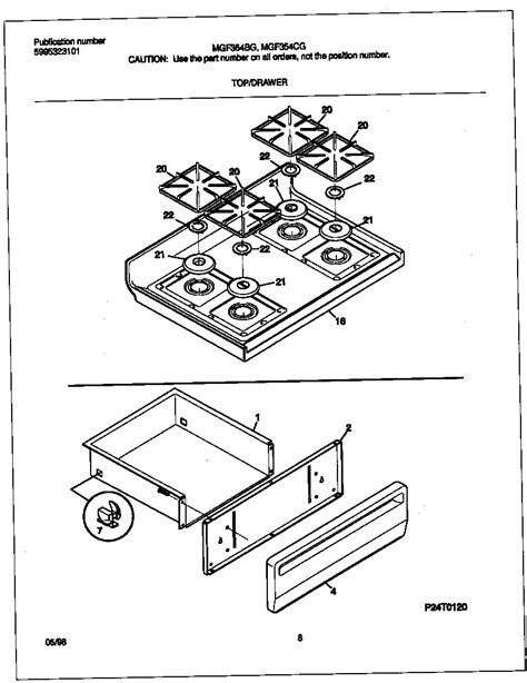 stove parts diagram gibson mgf354cgsc gas range timer stove clocks and