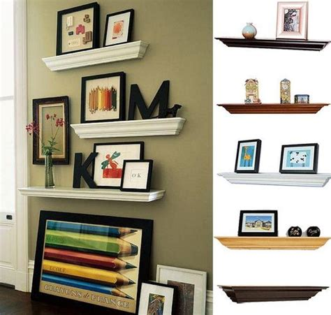 livingroom shelves floating shelves living room home living