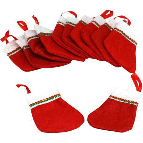 4 quot mini felt christmas stockings