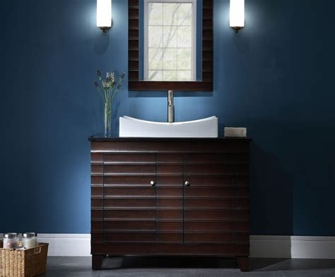 bathroom vanity contemporary bathroom vanity ideas vessel wave 42 inch contemporary dark espresso bathroom vanity
