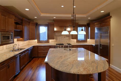 U Shape Kitchen Designs by